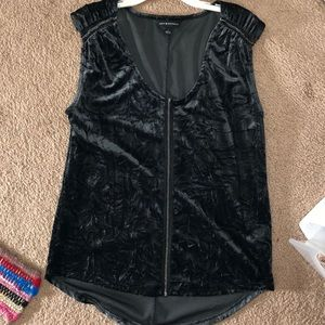 Crushed believer sleeveless party top. Rock&Roll